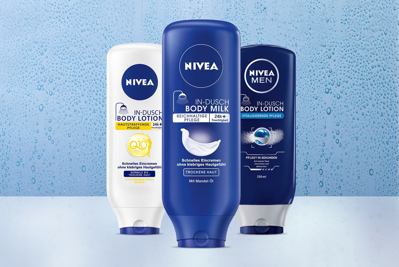 Innovazione NIVEA In-Shower Body Lotion